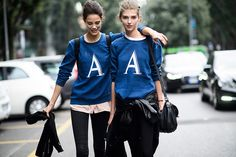 Twins Fashion 兩個恰恰好的超型格雙胞街拍   Popbee - a fashion, beauty blog in Hong Kong.