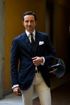 On the Street...Casual Formality, Milan.......The Sartorialist