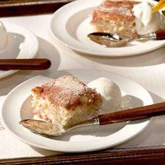 Marijane's Rhubarb Cake