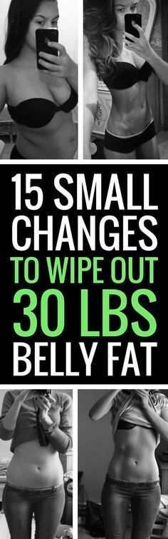 15 Small Changes To Battle Big Belly Fat!! – L/H
