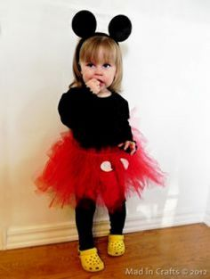 Minnie Mouse - Funny Halloween Costume Ideas for Kids