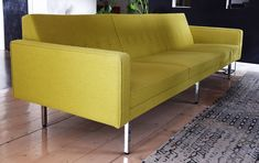 George Nelson (Herman Miller) Luke Furniture 3 Seat Sofa. Vintage Design | eBay