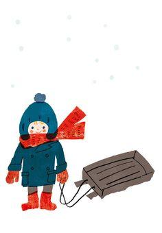 Snow Illustration.