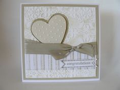 Wedding Card by Ausmex - Cards and Paper Crafts at Splitcoaststampers