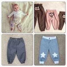Dette er mønsteret på bukse, ut i fra denne kan du lage forskjellige mod. Sewing Kids Clothes, Knitted Baby Clothes, Cute Baby Clothes, Sewing For Kids, Baby Sewing, Diy Clothes, Baby Outfits, Kids Outfits, Baby Knitting Patterns