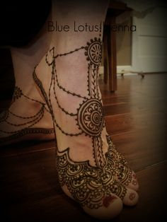 For the belly dancer...Blue Lotus Henna