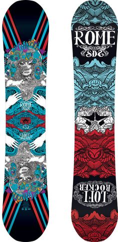Next deck for me!    Rome Lo-Fi Rocker Snowboard   Rome Snowboard Design Syndicate 2013