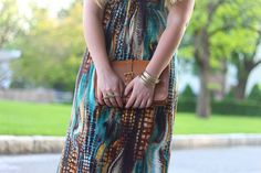 Living After Midnite: Jackie Giardina: Outdoor Party Style: Fashion: markgirl Exotic Maxi Dress by jackiegiardina, via Flickr