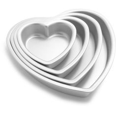 We recommend Fat Daddio's anodized cake pans for superior baking performance. Thick, aluminum pans provide even heat distribution, improved safety and unma. Heart Shaped Cake Pan, Heart Shaped Pancakes, Cupcake Mold, Cupcake Pans, Muffin Cupcake, Wilton Cake Decorating, Cake Decorating Supplies, Decorating Tips, Baking Tools