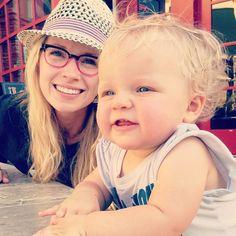 Brooke White of Girls With Glasses in the Punchline Frames (via Instagram)
