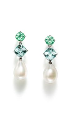 Earrings With Paraíba Tourmalines