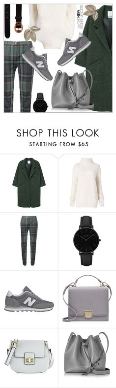 """Cozy fall"" by mari-meri ❤ liked on Polyvore featuring MANGO, Diane Von Furstenberg, Vivienne Westwood, CLUSE, New Balance, Smythson, French Connection, Lancaster and Prada"