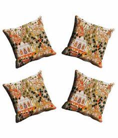 Mesleep Multicoloured Contemporary Cushion Cover Cushion Covers