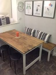 Image Result For Kitchen Tables With Benches