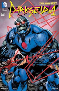 Justice League (2011-) #23.1: Featuring Darkseid  For Darkseid, Lord of Apokolips, you conform or die. Now born into his realm is an anomaly who looks to challenge that. A trickster, who will go to any length to survive even if it means sacrificing worlds to do it--leading to an Earth-shattering confrontation between The Man of Steel and a Dark Lord.