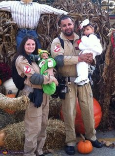 Ghostbusters Costumes and more Family Halloween Costume Ideas on Frugal Coupon Living. Many more crafty and DIY Halloween Costume Ideas for the family or multiple people.