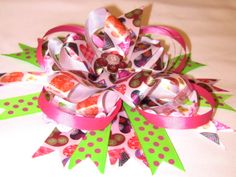 Learn to Make Boutique Hair Bows like these...