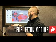 SparkFun FLiR Lepton Camera Module - YouTube