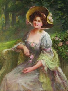 A Summer Afternoon in the Garden - Sidney Percy Hendrik