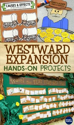 10 Creative ways to embed social studies into your literacy block. Find fun westward expansion activities that address literacy standards with center ideas. 4th Grade Social Studies, Social Studies Classroom, Social Studies Activities, Teaching Social Studies, Classroom Resources, Teaching Time, Teaching History, Teaching Ideas, Educational Crafts