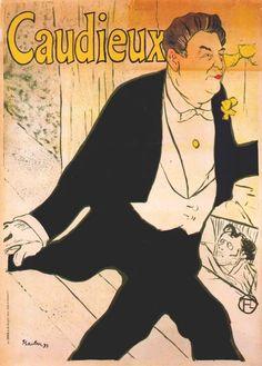 Caudieux (poster), 1893.
