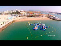 Praia da Rocha (Rock Beach) aerial view - Portimão - Algarve