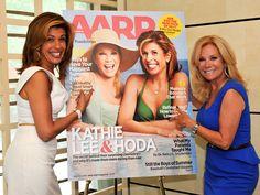 Cover girls! KLG and Hoda get beachy for AARP magazine