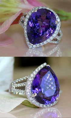 To put it in simple words, I love it! Tanzanite Rings are cute and adorable. The ring is totally worth it. I definitely would recommend for a gift to significant other. The ring is to die for.