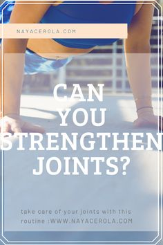do you know you can strengthen your joints? it's important to keep your joints healthy to avoid injuries.  full routine on how to strengthen your joints here Beginner Workout At Home, Workout For Beginners, Easy Workouts, At Home Workouts, English Reading, Yoga Positions, Medicine Ball, You Are Strong, Take Care Of Yourself