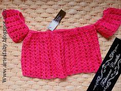 Cropped Ciganinha em crochê tamanho kids   peça enviada para São Paulo Feita com o fio Charme  cor 6156