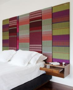 These bespoke headboards are amazing! Margo Selby || Interiors || Projects