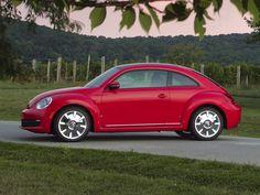 Volkswagen Beetle Hatchback Red Color