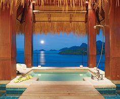 Panoramic pool.