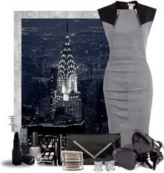 """New York State Of Mind Contest 4"" by amybwebb ❤ liked on Polyvore"