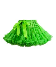 Another great find on #zulily! Green Limeade Pettiskirt - Infant, Toddler & Girls by TUTU COUTURE #zulilyfinds $13!