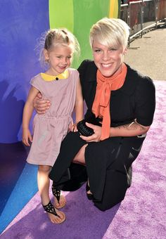Pink and her adorable look-alike daughter, Willow, stole the show at the premiere of Inside Out on June 7. See their cute red carpet photos!