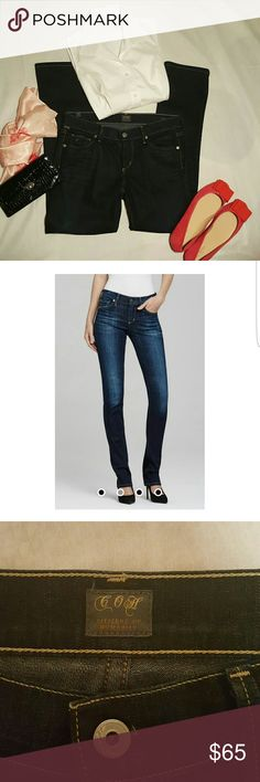 """NEW CITIZENS OF HUMANITY JEANS NEW without tags Citizens of Humanity Jeans  """"Ava"""" Low Rise Straight Leg 28"""" waist. Absolutely perfect! Citizens of Humanity Jeans Straight Leg"""