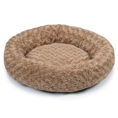 Slumber Pet Swirl Plush Donut Beds  -  Soft and Cozy Donut-Shaped Beds for Dogs and Cats - Small, 18', Oatmeal *** See this great product. (This is an affiliate link and I receive a commission for the sales)