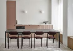 A Creative Helsinki Studio with a Gorgeous Pink Kitchen