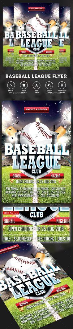 BBQ Party Flyer Party flyer - baseball flyer