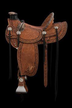 Saddle, Diamondback by Rick Bean