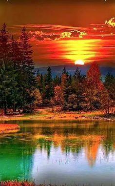 Landscape Sunset Nature Photography 31 Ideas For 2019 Beautiful World, Beautiful Places, Beautiful Scenery, Beautiful Beautiful, Beautiful Nature Scenes, Cool Pictures, Beautiful Pictures, Calming Pictures, Amazing Photos