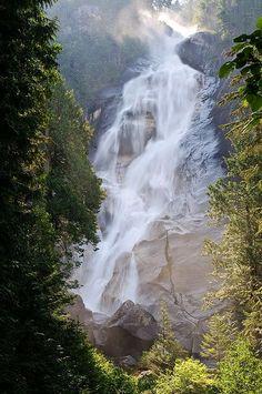 Shannon Falls Near Squamish,BC