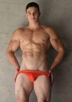 Anthony Sanchez Shirtless by John Hough