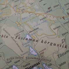Järvemudajärved #järvemuda #järveblogi Map, Maps