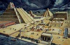 Así era la Gran Tenochtitlán ciudad de los Guerreros Aztecas.