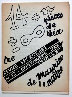 REVUES - LETTRISME - Ipergrafi. Revue de CREAN