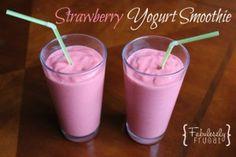 smoothie strawberry yogurt