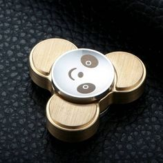 Panda Fidget Spinner Classic Stress Toy by AnyGO - Best Metal EDC Hand Spinner for Children Cool Fidget Spinners, Metal Fidget Spinner, Spinner Toy, Hand Spinner, Stress Toys, Fidget Toys, Edc, Stainless Steel, Cool Stuff