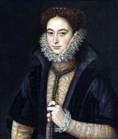 Infanta Catalina Michaela of Spain by Roland de Mois, c. 1580